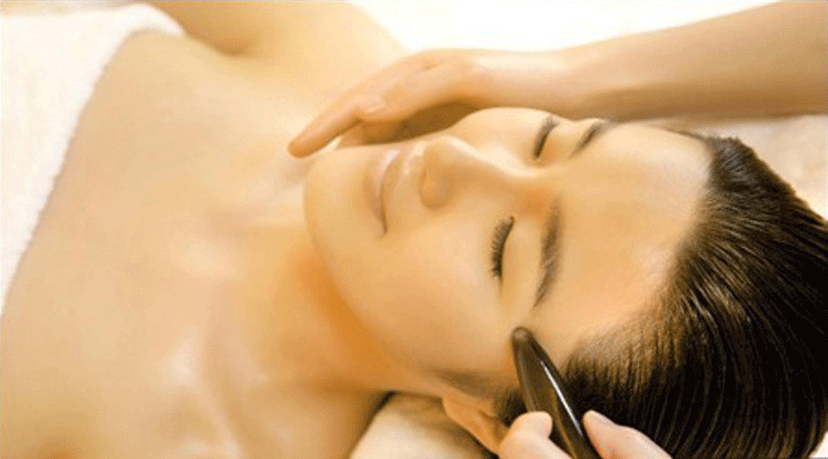 massage Chinois bian stone