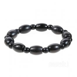 Bracelet perles ovales